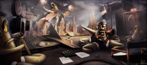 B-Movie makers from another world by danosborne
