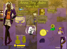 DR: Aurora ''Rory'' Anders by Paulagirl93