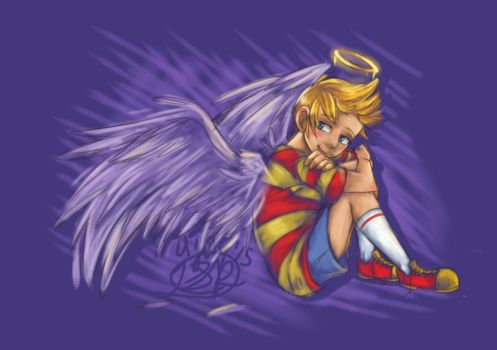 A Real Angel by Nandronjay