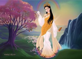 Lady of Creation : Goddess Saraswati by primakyria