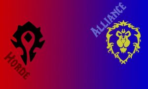 Horde-Alliance Banner Brushes by lady-allyria2010