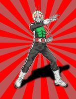 Kamen Rider Paint by varumo