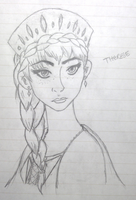 Queen Therese of the Southern Isles by calenheniel