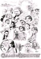 Game Of Thrones by Quadcabbage