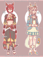 Aretes Adoptables Auction 1 CLOSED by Kaiet
