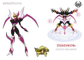DXZ 7KW: Hekatemon by Shadypenpen