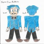 Finn McMissile - Humanized Concept by falconvillager