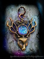 Spirit of the Forest by ArtByStarlaMoore