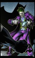 The Jokers Gamble coloured by spidermanfan2099