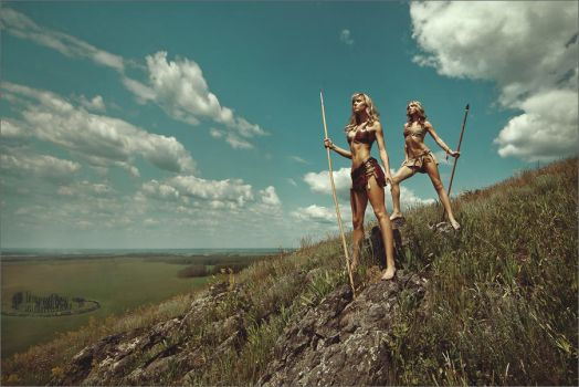 Amazons by Sukhovey