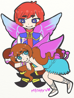 Fairy couple by Mintiru