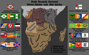 Great German South and Central Africa by FictionalMaps