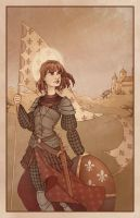 Joan of Arc by SerenaGuerra