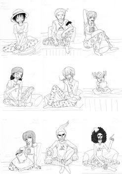 One Piece: Pajamas by un-understandable