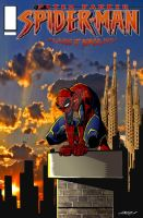 spidey at barcelona by haruko79