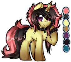 Unicorn Pony Adopt Auction (OPEN) by miss-mixi
