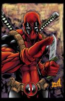 Deadpool Number 2 colored by hanzozuken