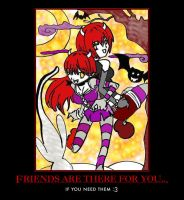 friends are there for you by SweetBaiTsa