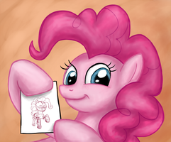 Pinkie Pie tells you to use undersketch by Tunskaa
