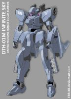 DTH-01M Infinite Sky color scheme #1 by EBR-KII