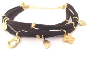 FREE Shipping Idit Stern Charming Suede Bracelet by iditstern