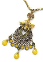Another bee necklace by JLHilton