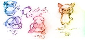 Daily Sketch 2010-01-05-09 by lafhaha
