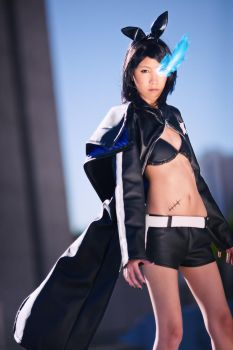 Black Rock Shooter -Rin- by wonderfish