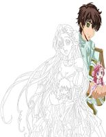 Code Geass Euphemia And Suzaku work 3 by daylover1313
