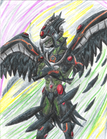 Alien Hybrid- Blackwing by ElementalHeroShadow2