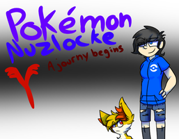 Poemon Y Nuzlocke. A journey begins- Front cover. by lydiadoesnuzlocke
