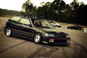 Honda Civic 1983 by tebidesign