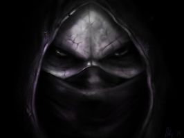 Noob Saibot sketch by LetticiaMaer
