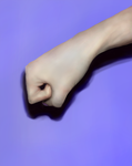 Digital Painting: Hand Challenge 1 by Dex91