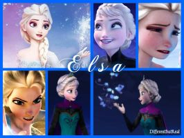 Queen Elsa of Arendelle by DifferentButReal