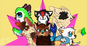 Iscribble collab GIFTS by IIace