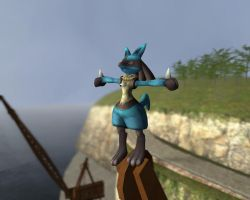 GM 8.3: Lucario's Place by Steffanic