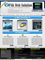 PAK WEB SOLUTION by rameexgfx