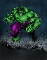 Hulk Colors by likwidlead