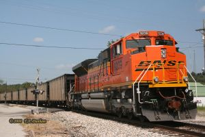 BNSF 9239 at Anderson by labrat-78