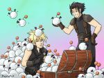 Moogle tribbles by animama