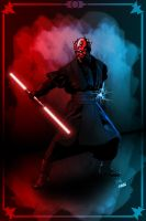 darth maul by jaymahjad