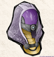 Tali'Zorah Vas Normandy by Cryforce