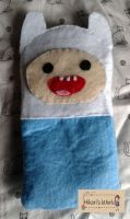 For Sale Finn the Human Cellphone Pouch by Hikarisworld