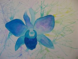 Blue Orchid by theartisticnerd