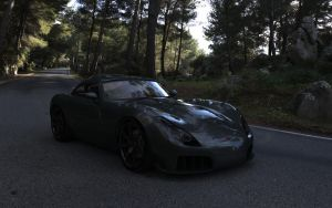 TVR Sagaris render 1 by RJamp