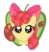 Applebloom Keychain by Talonsword