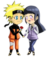Naruhina chibi love by inulover411