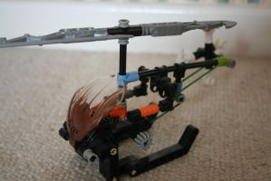 Bionicle MOC: Helicopter by Rahiden
