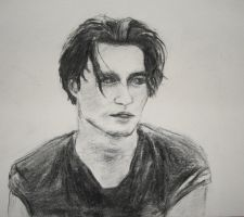 the younger Johnny Depp by Bubuka812